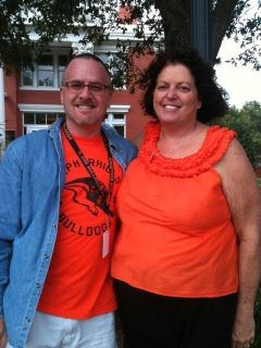 Zephyrhills Key Club Faculty Advisors Ira Pincus and Monica Lehman